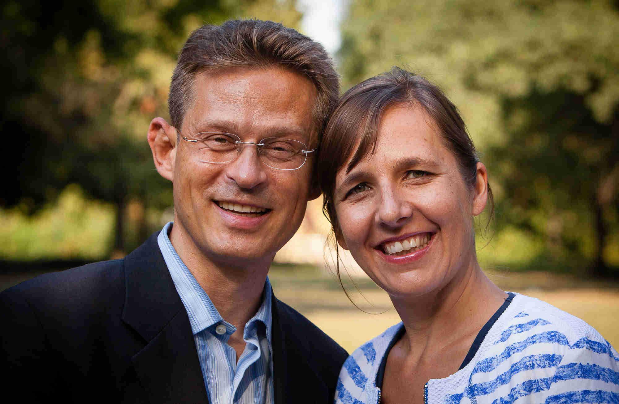 Corinna Budras und Pascal Fischer
