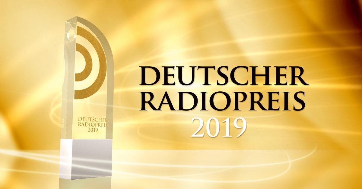 Logo des Deutschen Radiopreis 2019